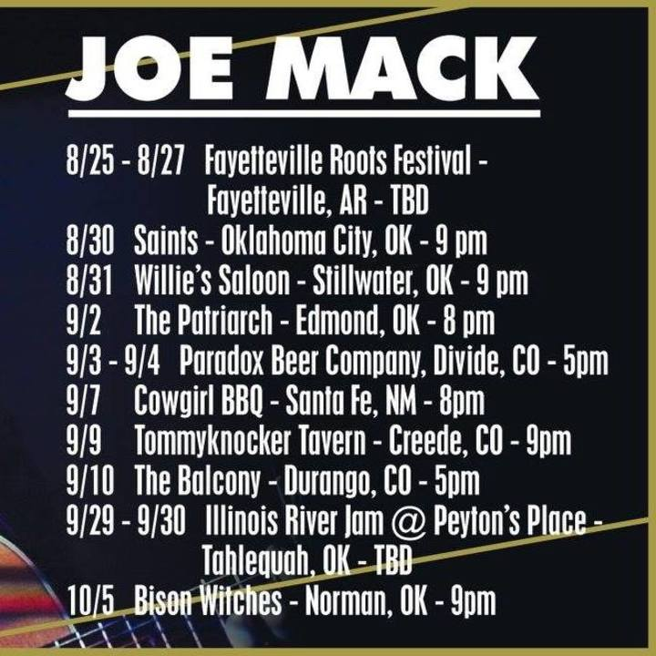 Joe Mack Music @ Main Stage - Medicine Park, OK