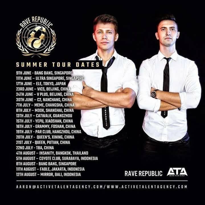 Rave Republic Tour Dates