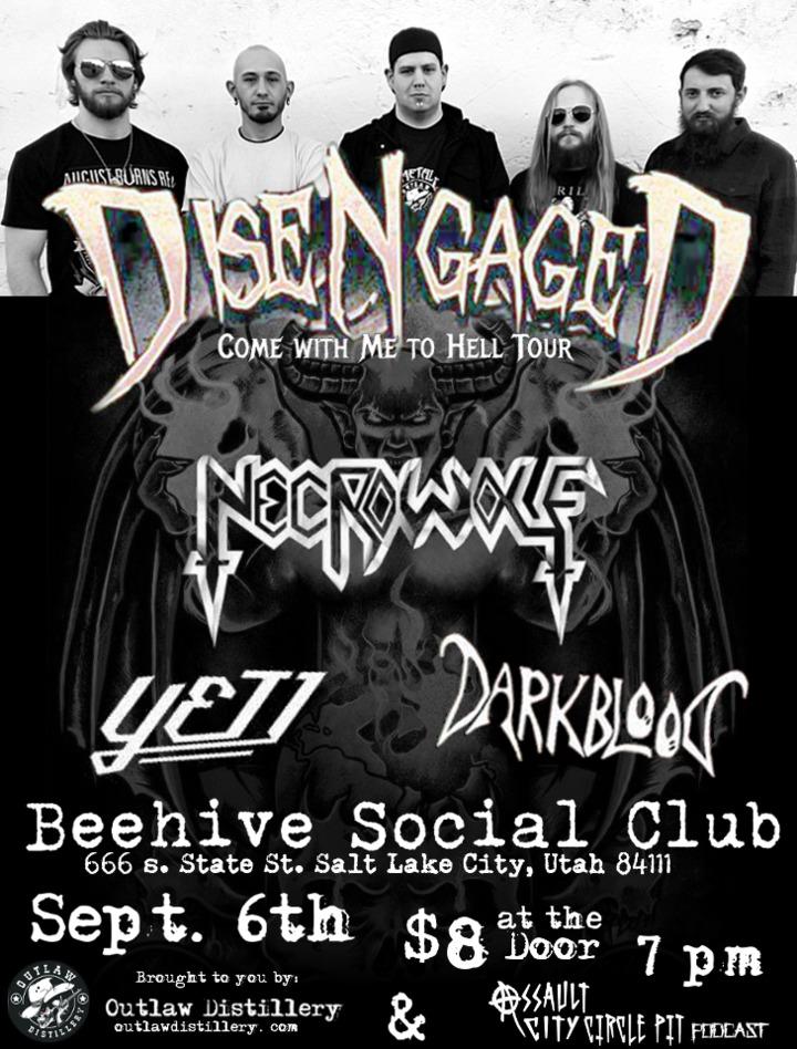 Yeti SLC @ Beehive Social Club - Salt Lake City, UT