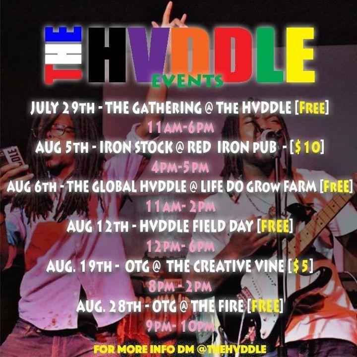 The Hvddle Tour Dates