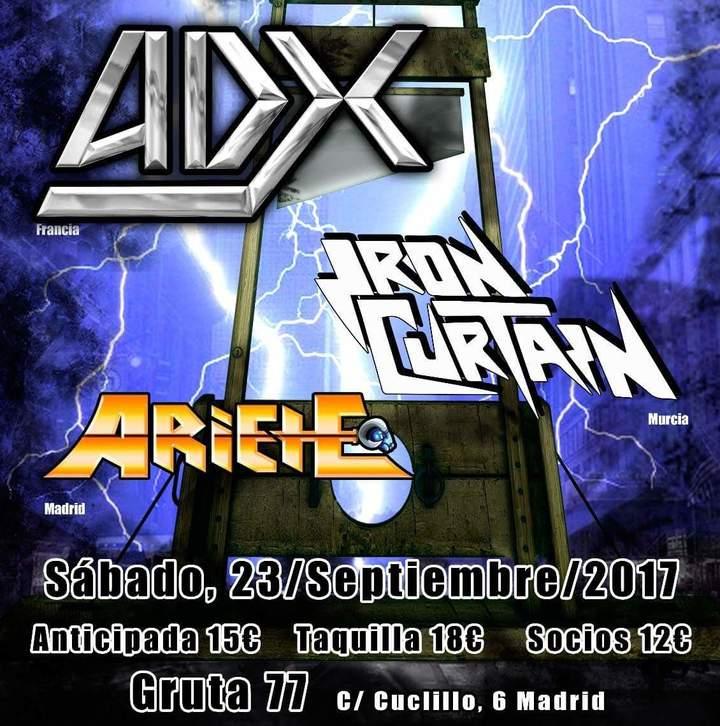 ADX @ Screaming For Metal V - Madrid, Spain