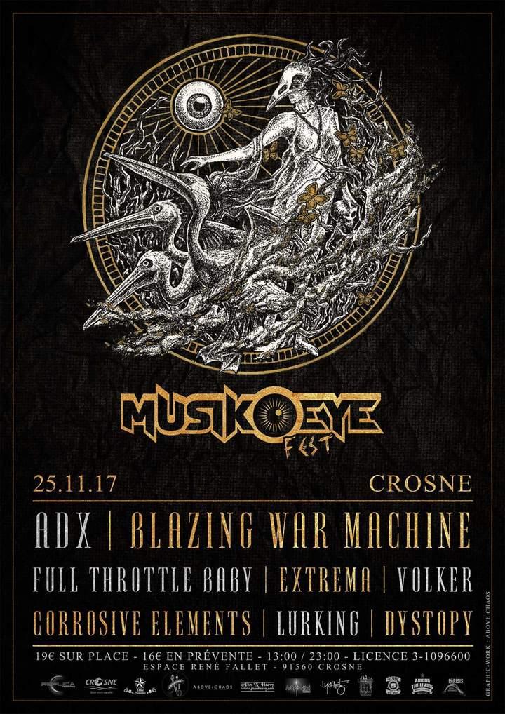 ADX @ MuzikÖ_Eye FEST - Crosne, France