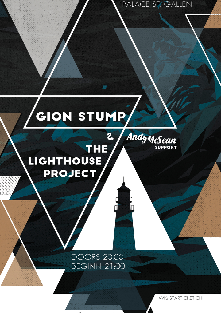 Gion Stump & The Lighthouse Project @ Palace - St. Gallen, Switzerland