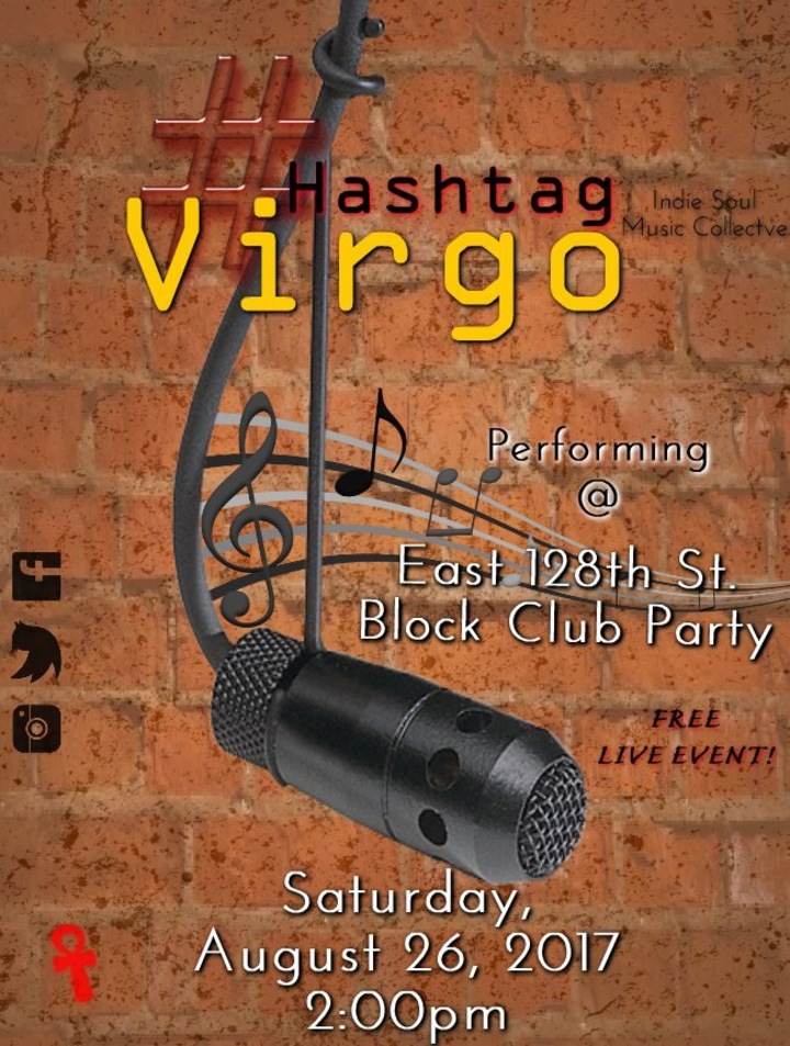 Hashtag Virgo @ East 128th Street Block Club Party - Cleveland, OH