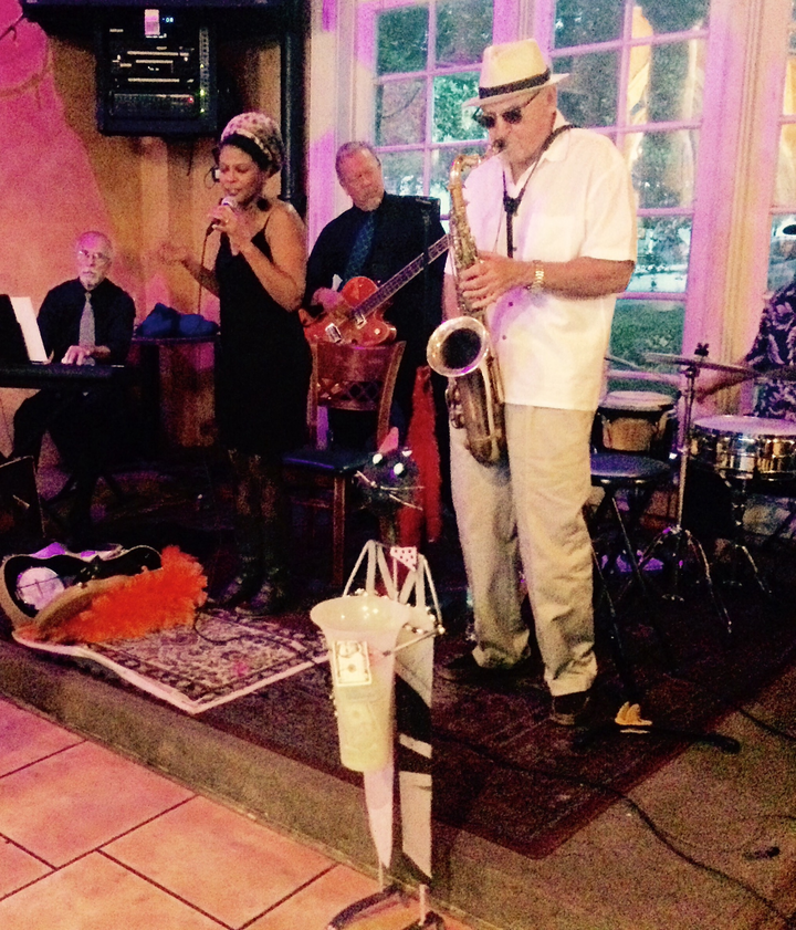 Sybil Gage @ Peanut's Restaurant - New Smyrna Beach, FL