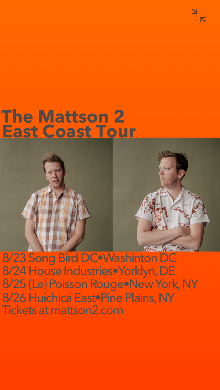 Mattson 2 @ Songbird DC - Washington, DC