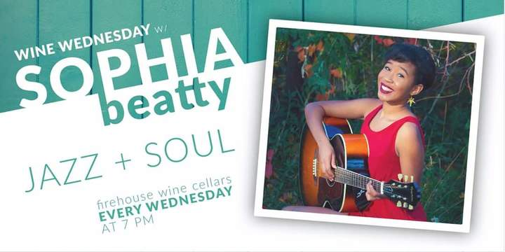 Sophia Beatty @ Firehouse Wine Cellars  - Rapid City, SD