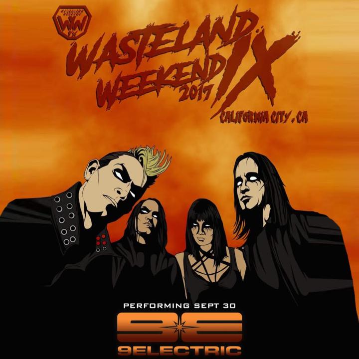 9ELECTRIC @ Wasteland Weekend  - California City, CA
