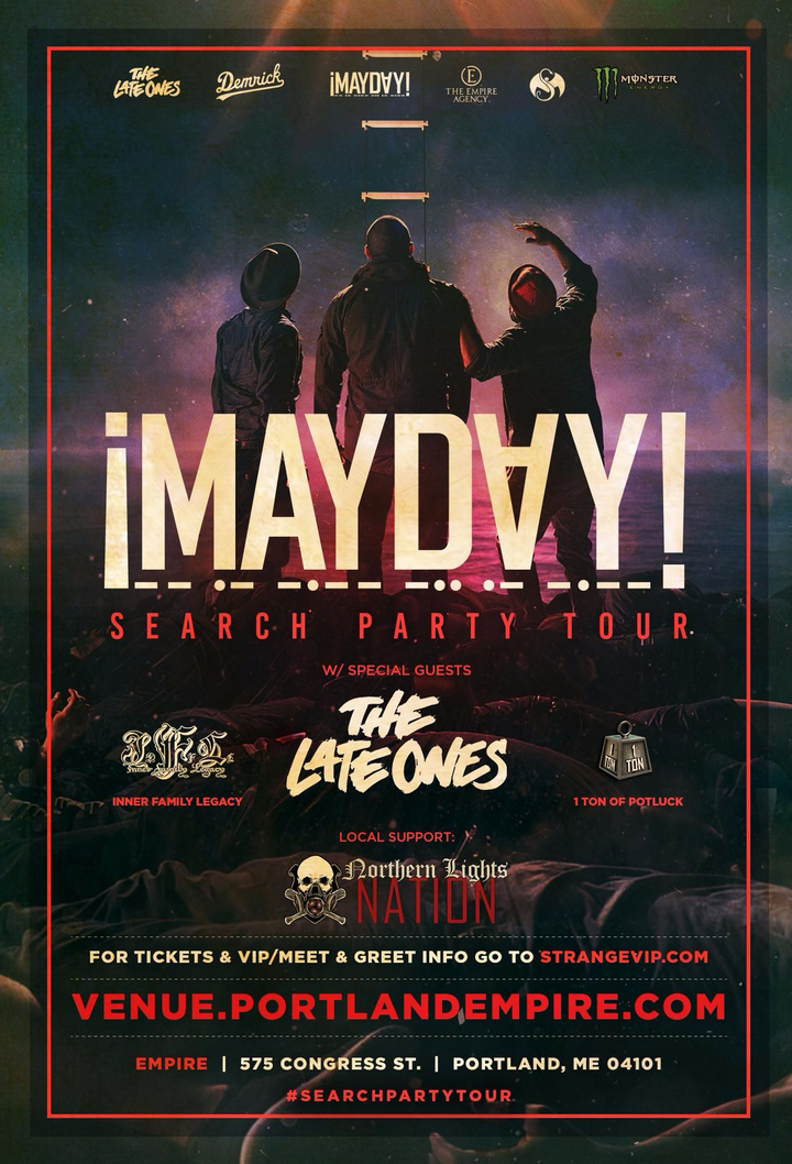 ¡Mayday! @ Empire Live Music - Portland, ME