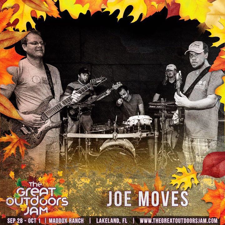 Joe Moves Tour Dates