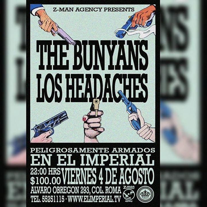 Los Headaches Tour Dates