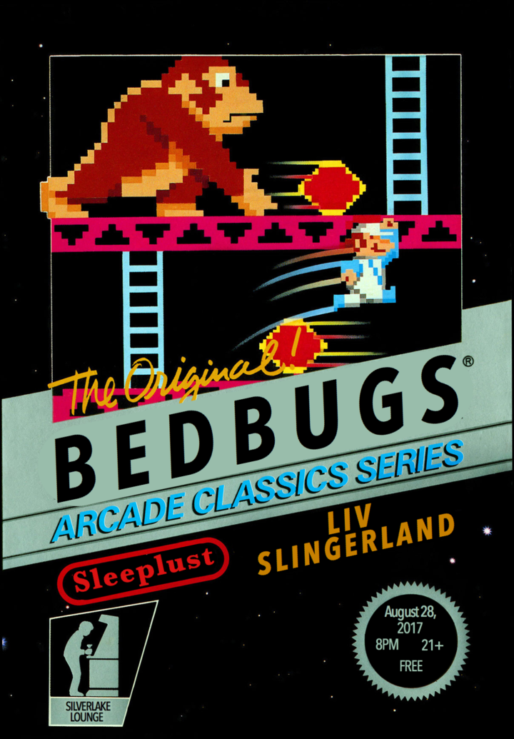 Bedbugs @ Silverlake Lounge - Los Angeles, CA