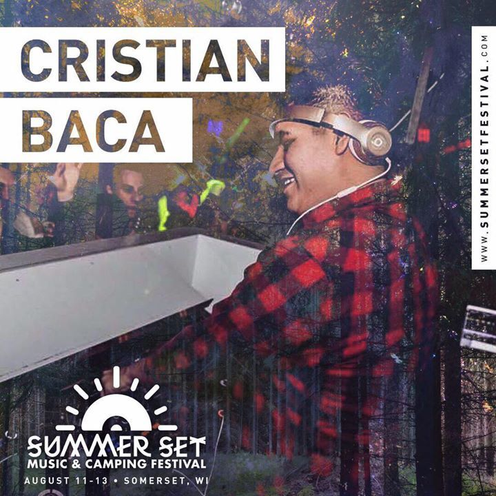 Cristian Baca @ Summer Set Music Festival  - Somerset, WI
