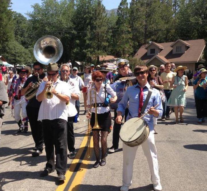Euphoria Brass Band @ Idyllwild Brewpub - Idyllwild, CA