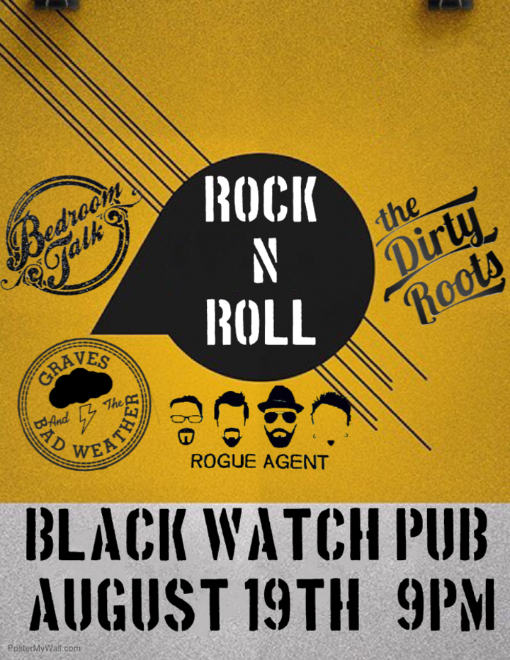 Graves & The Bad Weather @ The Black Watch Pub  - Upland, CA
