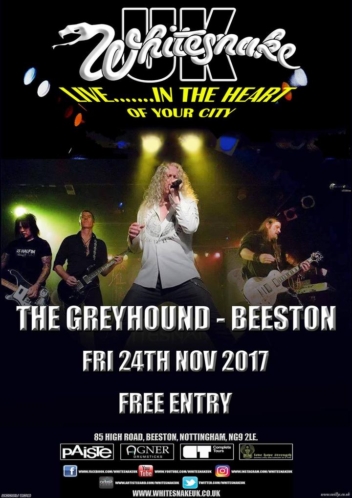 Whitesnake UK (the tribute) @ Greyhound - Nottingham, United Kingdom