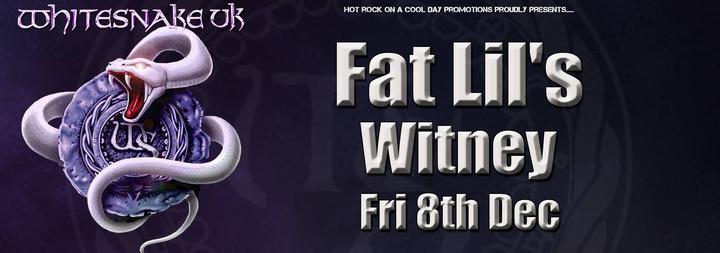 Whitesnake UK (the tribute) @ FAT LILS - Witney, United Kingdom