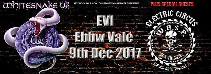 Whitesnake UK (the tribute) @ EVI ebbw vale institute - Ebbw Vale, United Kingdom