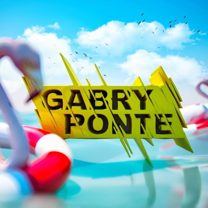 Gabry Ponte @ Festa In Piazza - Oliena, Italy