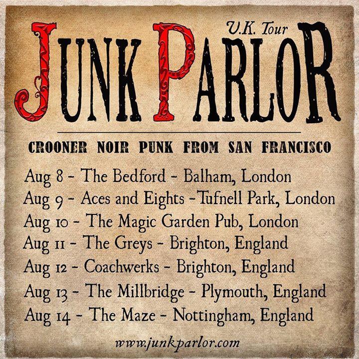 Junk Parlor @ Millbridge - Plymouth, United Kingdom