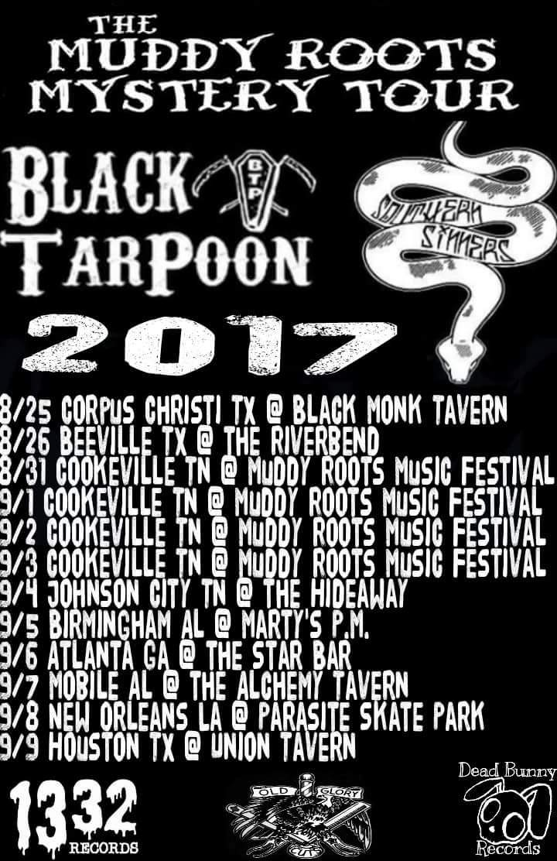 Black TarPoon @ Parasite Skate Park - New Orleans, LA