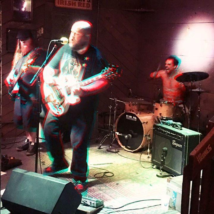 The Dangerous Idiots @ Pizza D'Action - Little Rock, AR