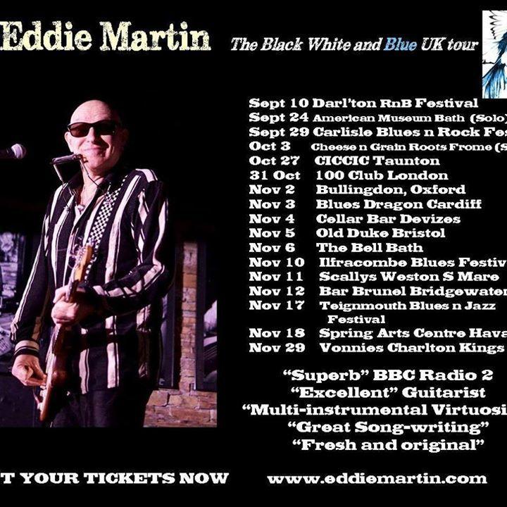 Eddie Martin @ The Bell - Bath, United Kingdom