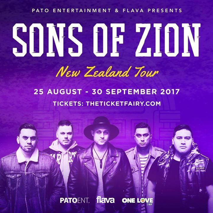 Sons Of Zion @ The Avenue - Melbourne, Australia