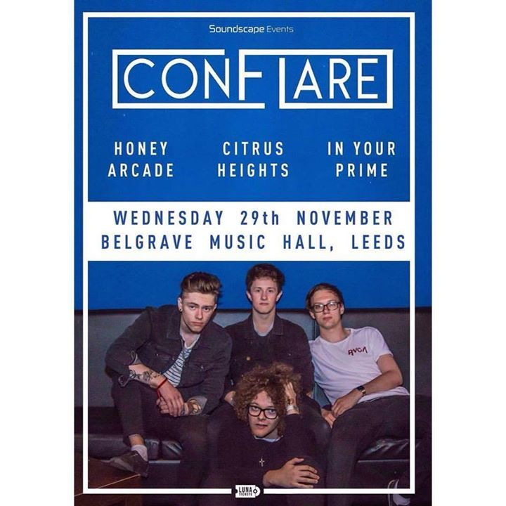 Conflare Tour Dates