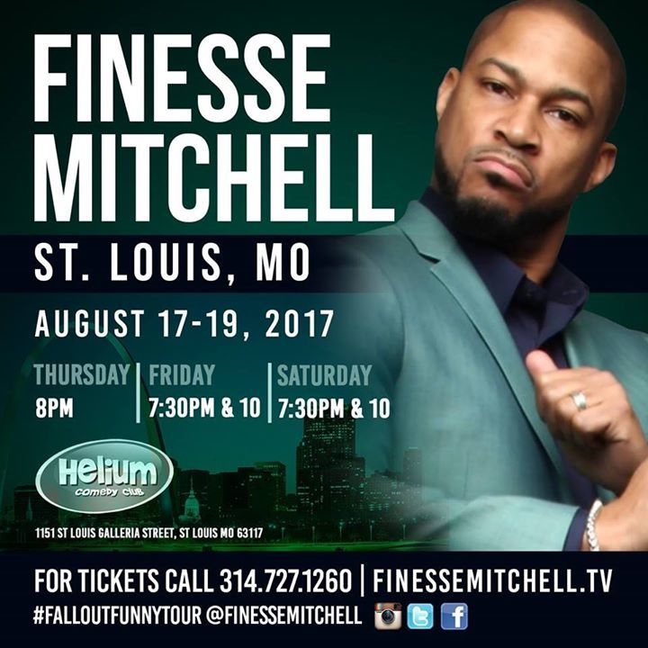 Finesse Mitchell @ Helium Comedy Club - St Louis, MO