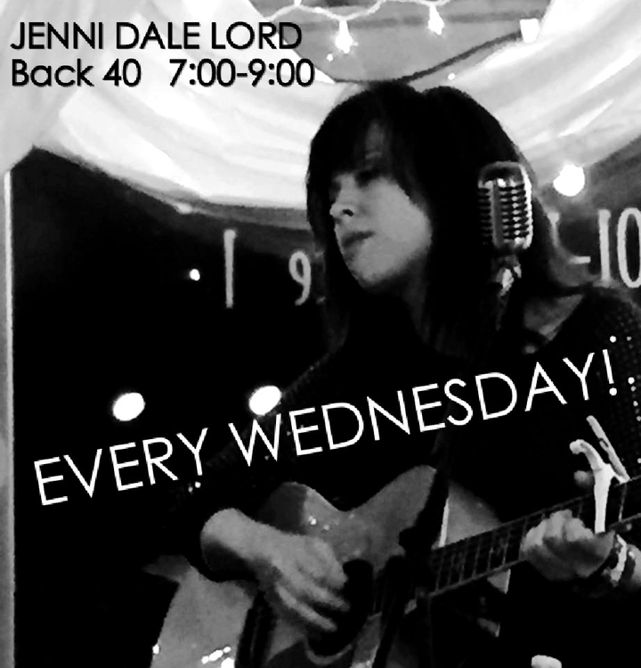 Jenni Dale Lord @ Back 40 Grill - Lubbock, TX