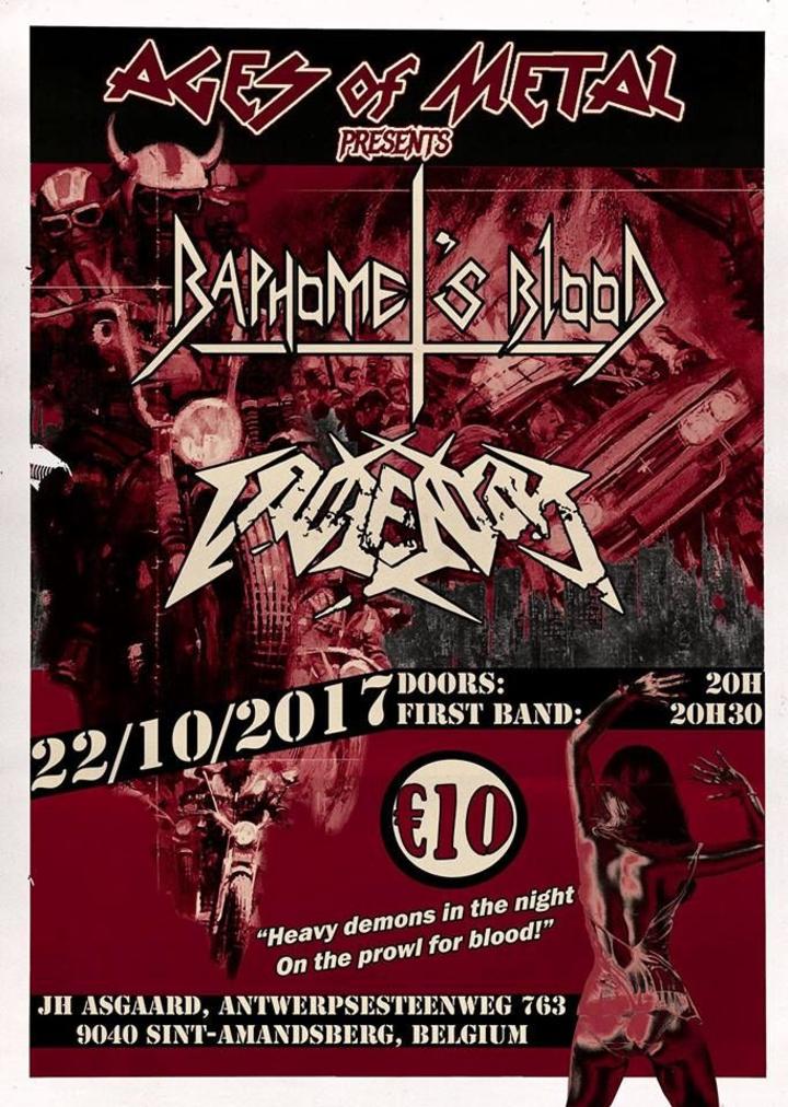 Baphomet's Blood (official) @ Jeugdhuis Asgaard - Ghent, Belgium