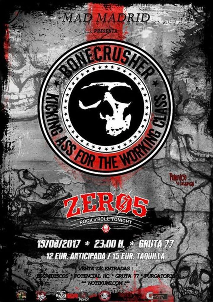 ZERO 5 Rock'n'Roll Tonight Tour Dates