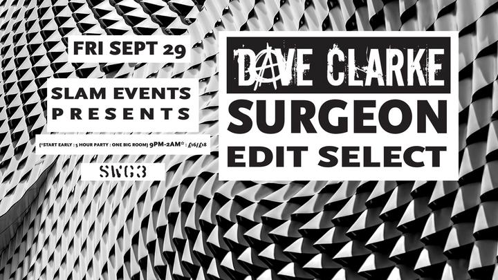 Dave Clarke (Official) @ SW3 - Glasgow, United Kingdom
