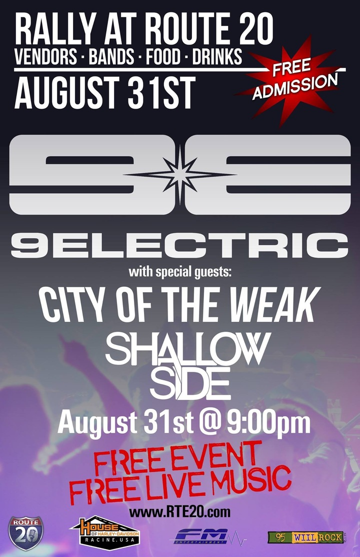 9ELECTRIC @ Route 20  - Racine, WI