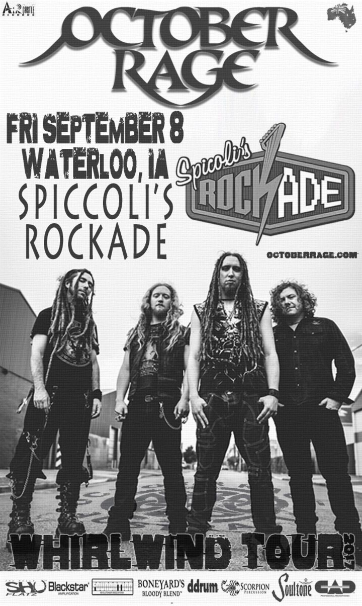 October Rage @ Spicoli's - Waterloo, IA