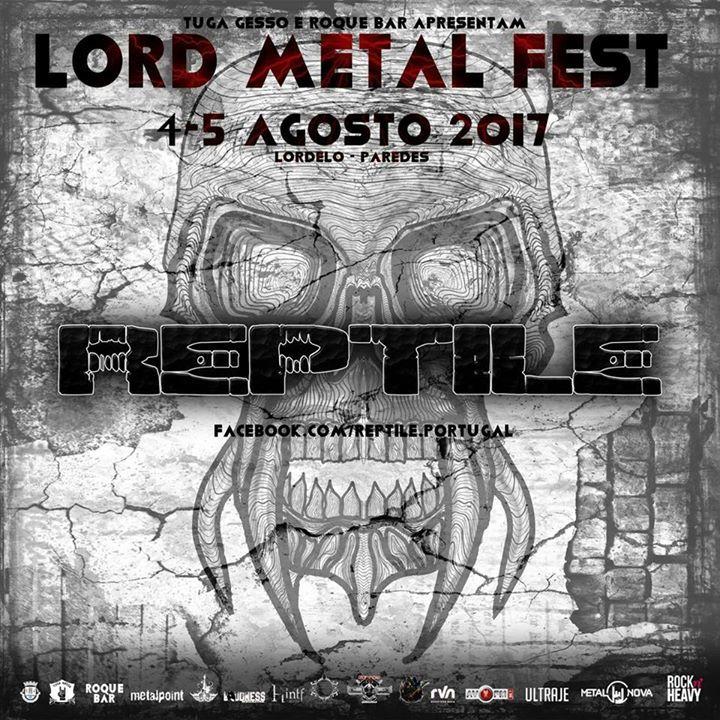 Reptile Portugal Tour Dates