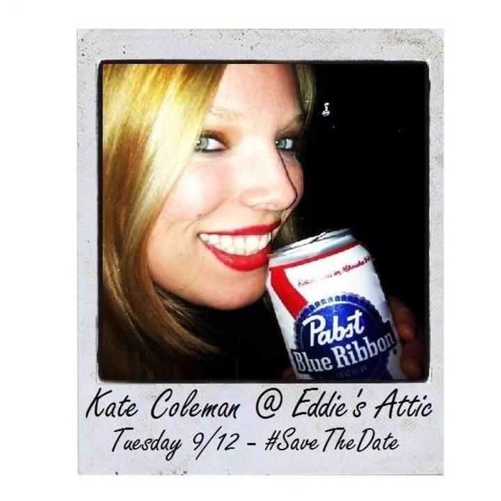 Kate Coleman @ Eddie's Attic - Decatur, GA