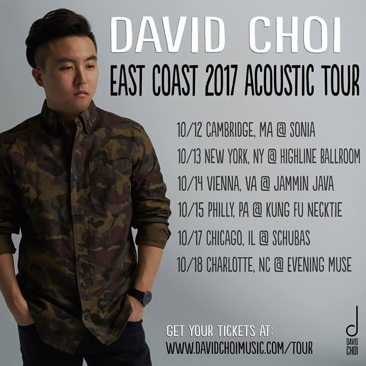 David Choi @ Highline Ballroom - New York, NY