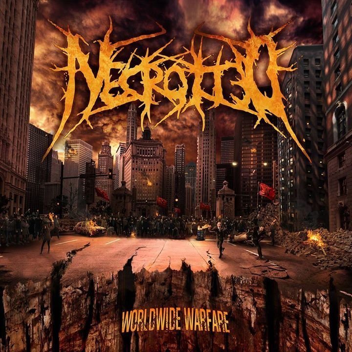 NECROTTED Tour Dates