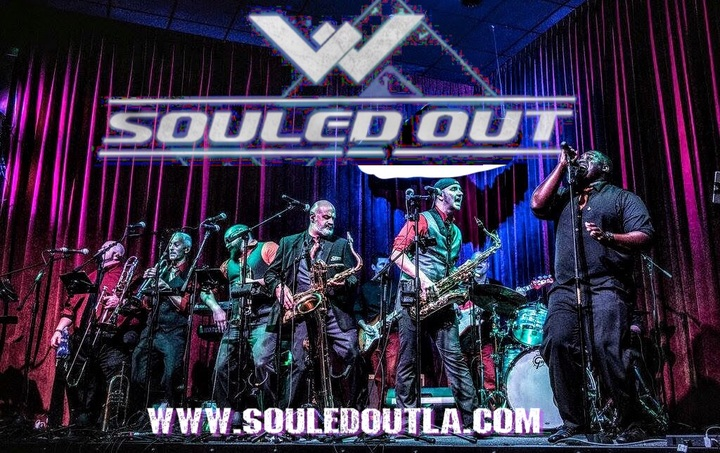 Souled Out (LA) @ New Year's Eve 2017 with The Jaxson - New Orleans, LA