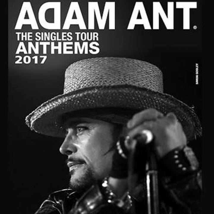 Adam Ant Tour Dates