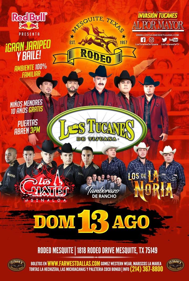 Los Tucanes de Tijuana @ Mesquite ProRodeo - Mesquite, TX