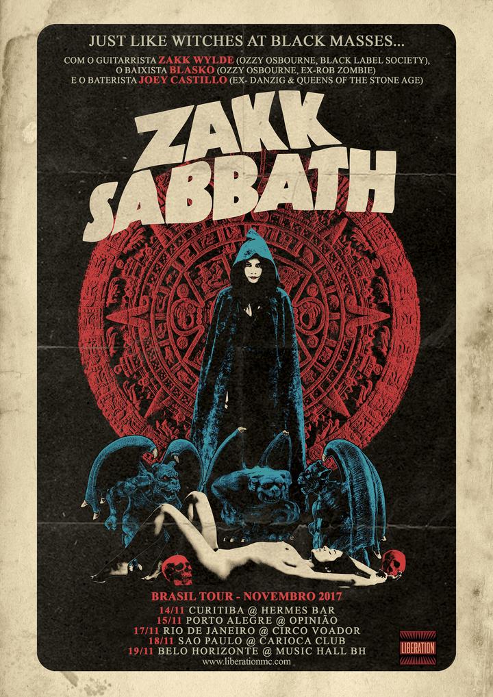 Zakk Sabbath @ Hermes Bar - Curitiba, Brazil
