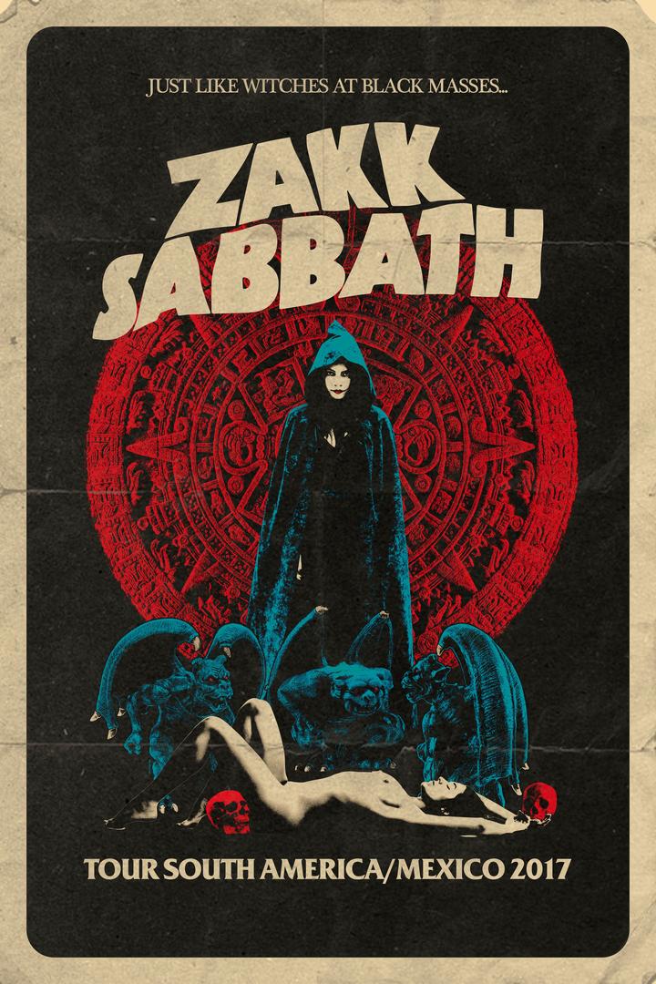Zakk Sabbath @ Royal Center - Bogota, Colombia