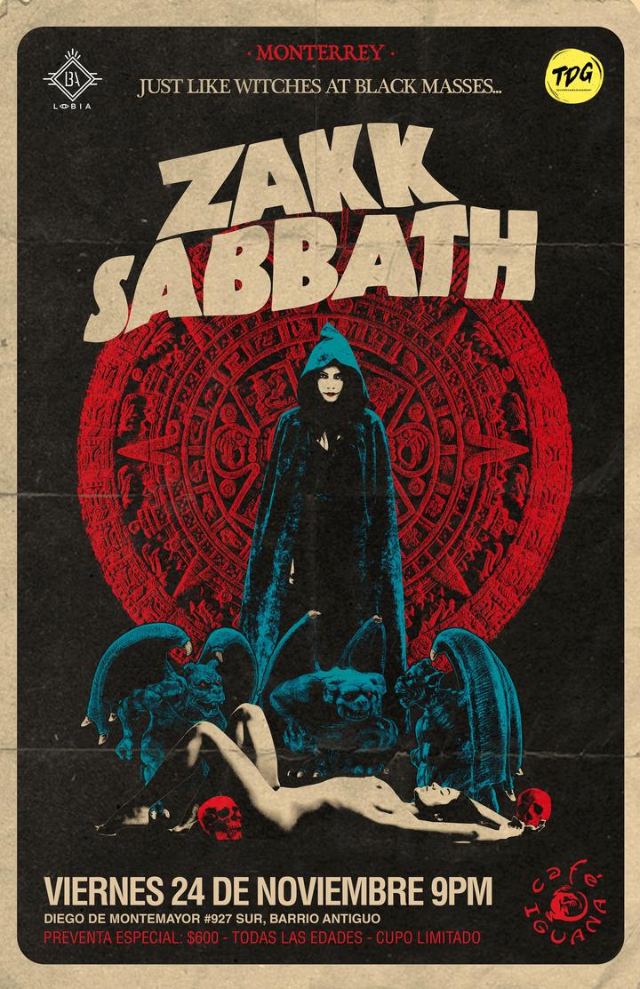 Zakk Sabbath @ Cafe Iguana - Monterrey, Mexico