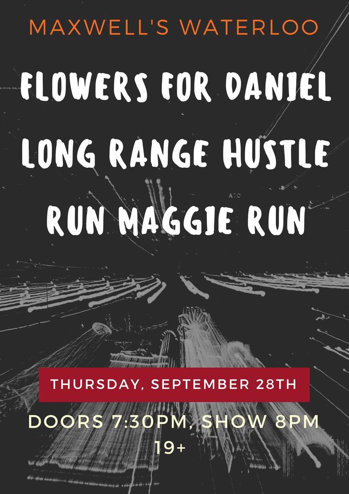 Long Range Hustle @ Maxwell's  - Waterloo, Canada