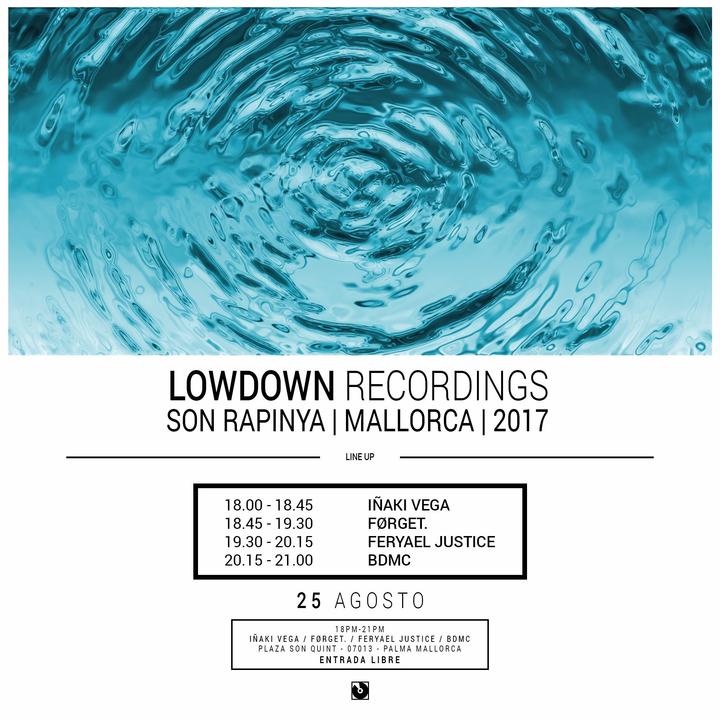 Lowdown Recordings @ Son Rapinya - Palma, Spain