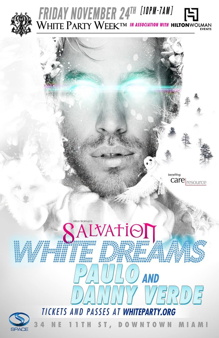 Danny Verde @ White Party Week - Salvation @ Space Club  - Miami, FL