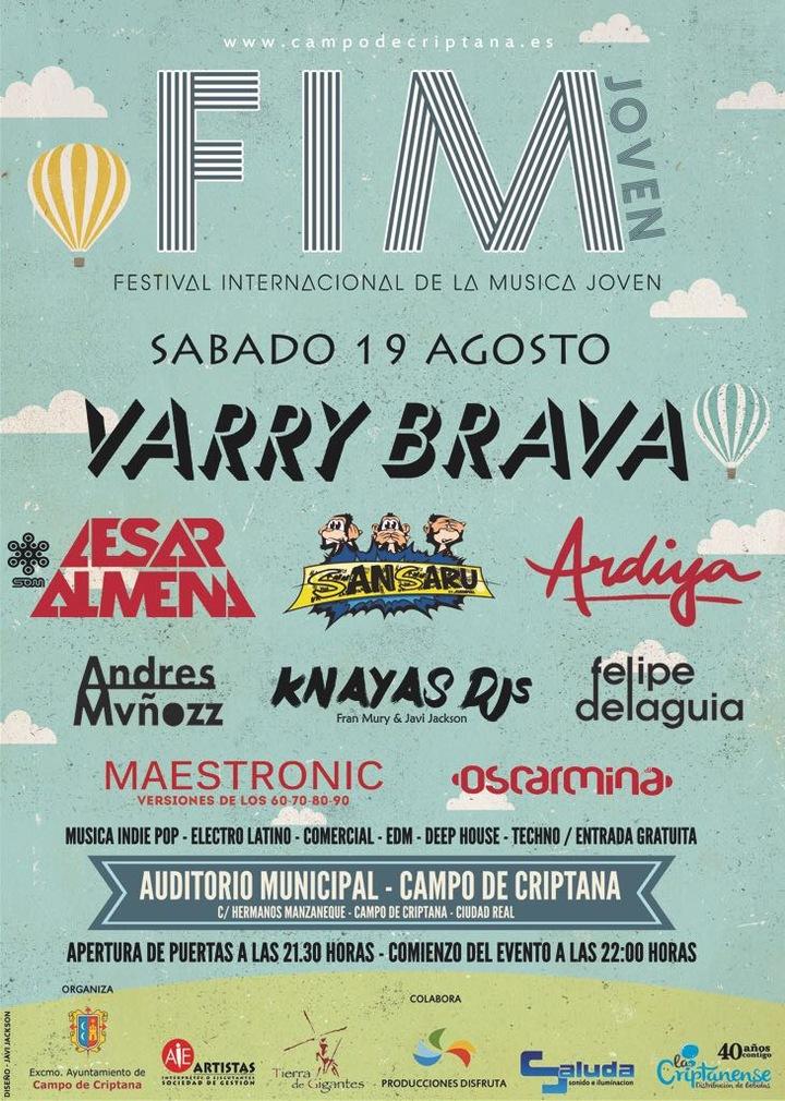 Oscarmina Dj @ Festival FIM Criptana - Real De Montroy, Spain
